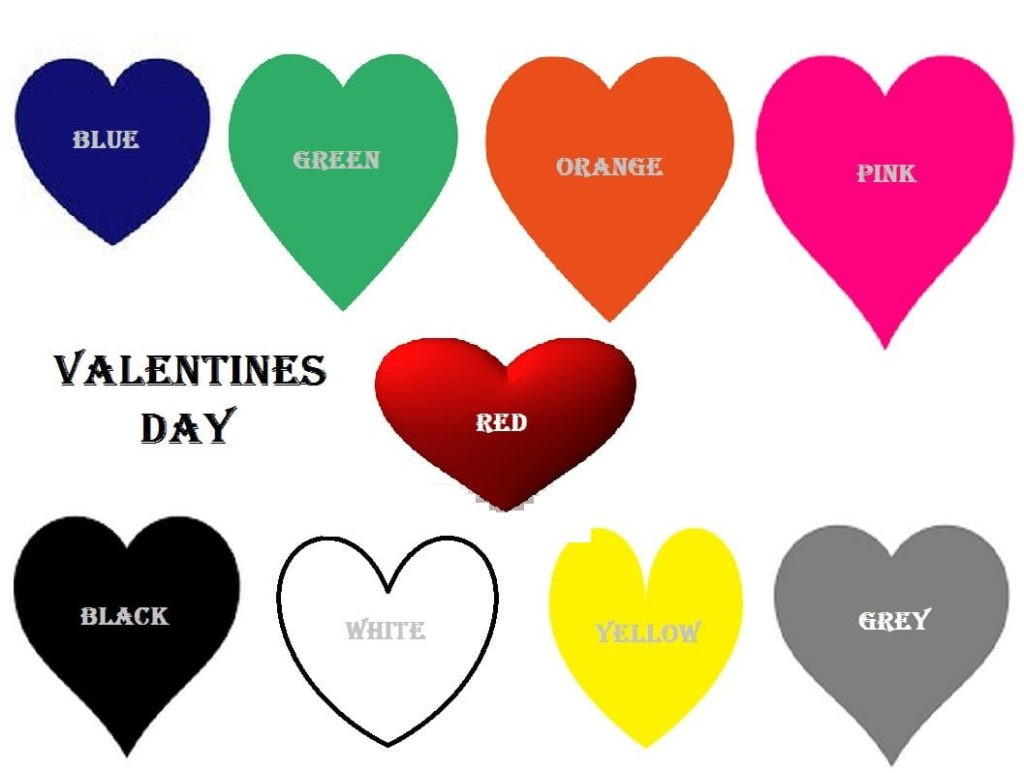 Valentine's Day Dress Code Meaning Feb 14th Dress Colours